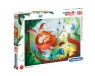 Puzzle SuperColor 180: The Dragon and the Knight (29209) Wiek: 7+
