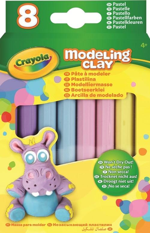 Plastelina pastelowa Crayola - 4 kolory (57-0311)