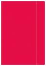 Teczka z gumką A4+ Fluo różowa