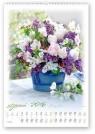 Kalendarz 2016 RW Bukiety kwiatów