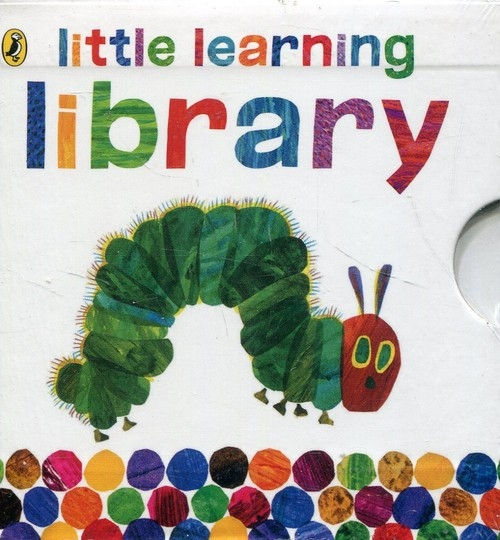 Very Hungry Caterpillar Little Learning Library Carle Eric