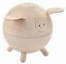 Drewniana skarbonka świnka (PLTO-8611)
