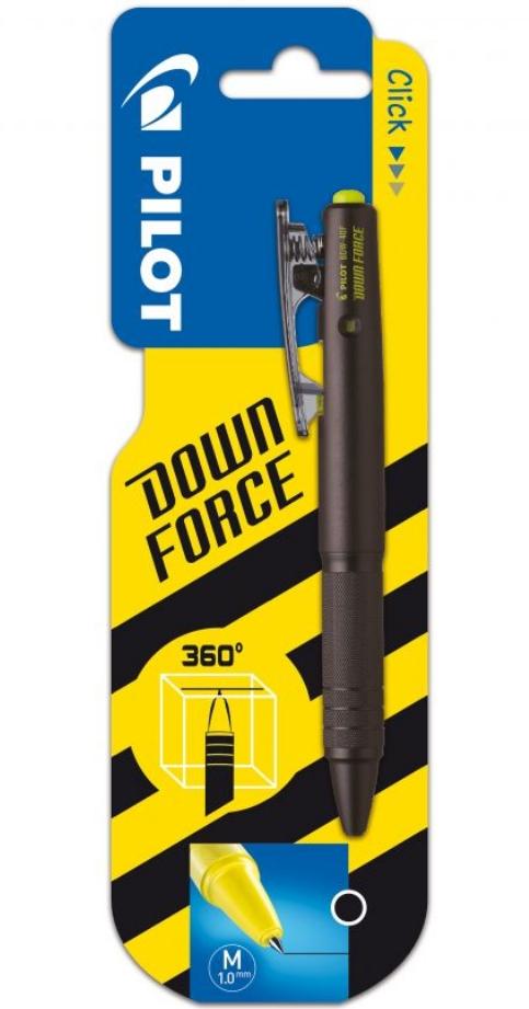 Długopis do zadań specjalnych Pilot Down Force Czarny (BDW40MWBBLBLACK/B1)