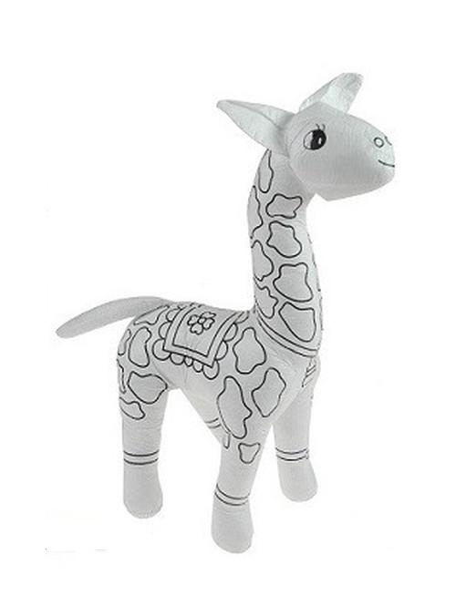 Maskotka do malowania Żyrafka + pisaki