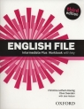English File Intermediate Plus Workbook (Uszkodzona okładka) Latham-Koenig Christina, Oxenden Clive