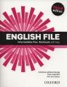 English File Intermediate Plus Workbook (Uszkodzona okładka)