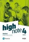 High Note 4. Workbook. B2/B2+ + Online Practice