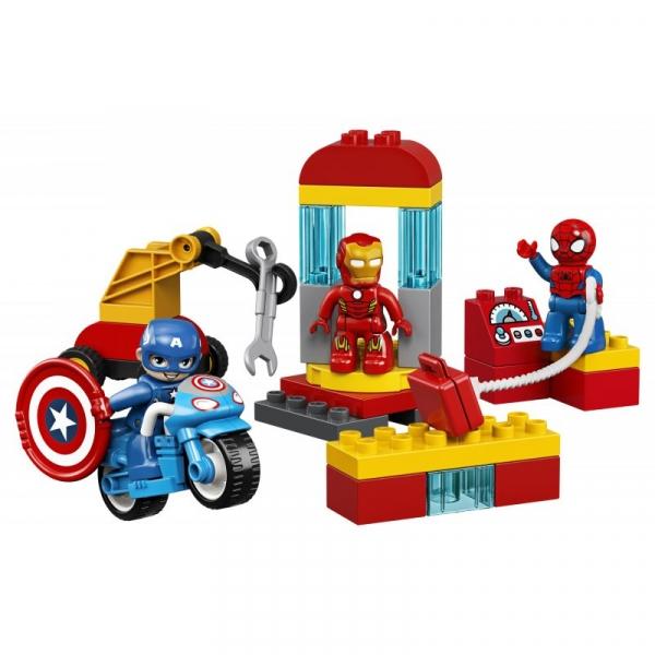 Lego Duplo: Laboratorium superbohaterów (10921)