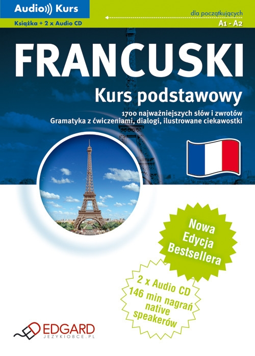 Francuski Kurs Podstawowy z płytą CD