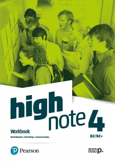 High Note 4. Workbook. B2/B2+ + Online Practice Daniel Brayshaw, Bob Hastings, Joanna Sosnowska