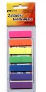 Zakładki indeksujące plastikowe 7x25 12mm x45mm (ZI-12)