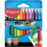 Kredki świecowe Color'Peps - 12 kolorów (MPD-861011)