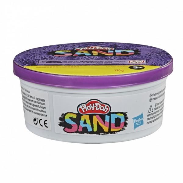 Piasek kinetyczny PlayDoh Sand Tuba pojedyncza Puurple (E9073/E9295)