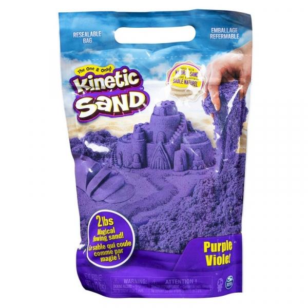 Piasek kinetyczny KINETIC SAND żywe kolory fioletowy (6046035/20106426)