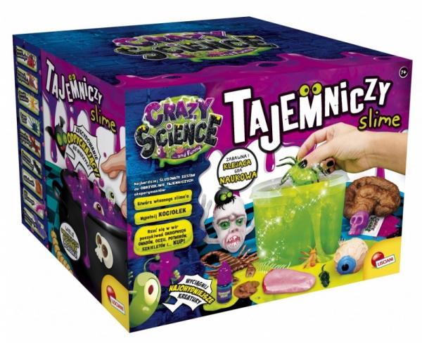 Zestaw Crazy Science Potwornie tajemniczy slime (304-PL80656)