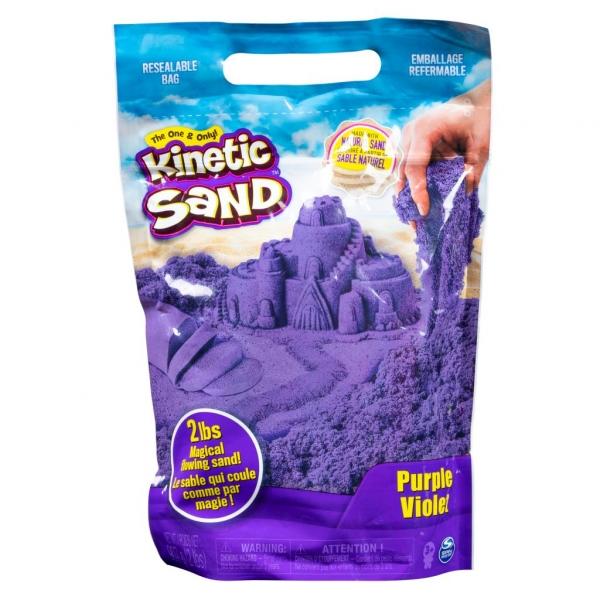 Kinetic Sand: Piasek kinetyczny żywe kolory - fioletowy (6046035/20106426)