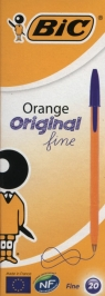 Długopis Orange Original Fine niebieski pudełko 20 sztuk