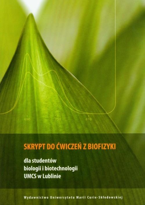 Skrypt do ćwiczeń z biofizyki
