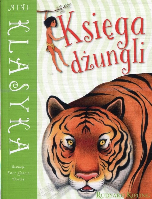 Mini Klasyka Księga dżungli Kipling Rudyard