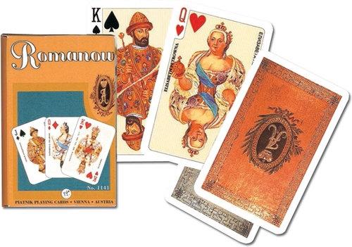 Karty do gry Piatnik 1 talia Dynastia Romanowów