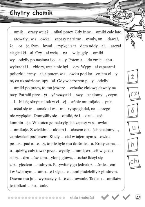 Radosne dyktanda - klasa 5 Joanna Zawadzka