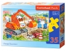 Puzzle Orange Excavator 35 elememtów (035113)