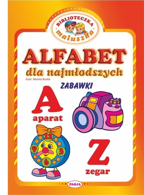 Alfabet dla najmłodszych Zabawki Budek Mariola