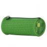 Piórnik tuba zielony z silikonowym panelem