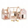 Składany domek dla lalek (PLTO-7611)