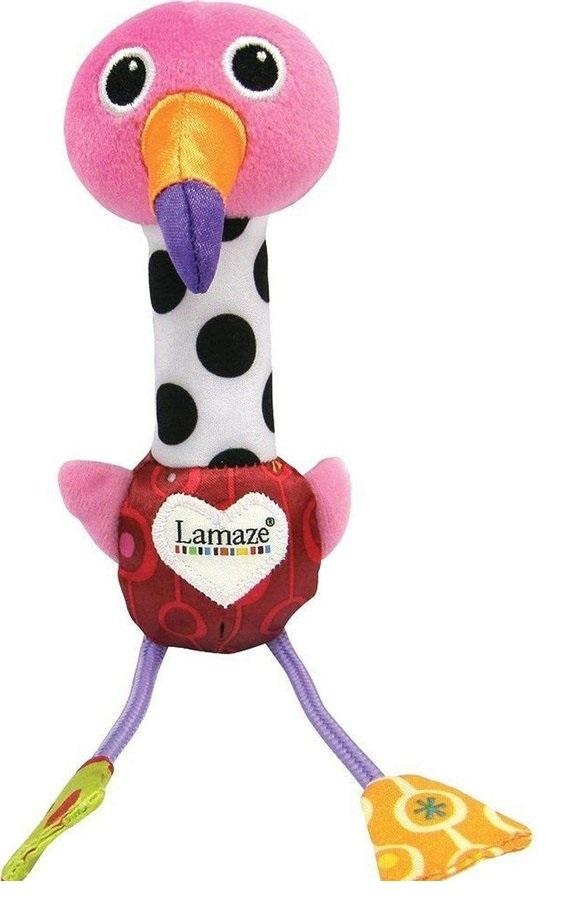 Lamaze: ćwierkający wesoły flaming LC27611 (43344)