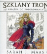 Szklany tron książka do kolorowania Maas Sarah J.