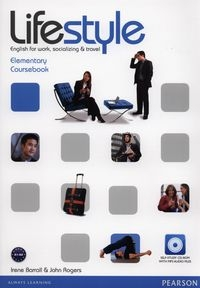 Lifestyle Elementary Coursebook + CD Barrall Irene, Rogers John