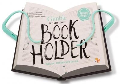 Gimble Book Holder - miętowy uchwyt do książki lub tabletu