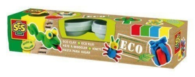Miękka ciastolina EKO - 4 kolory
