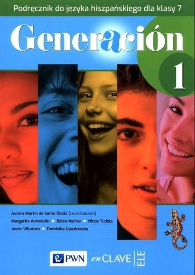 Generacion 1 Podręcznik SP 7 PWN praca zbiorowa