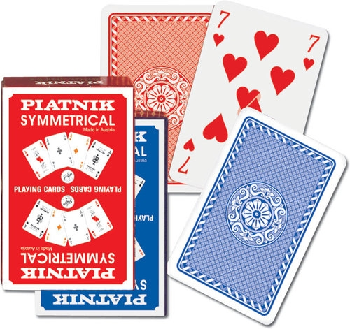 Karty do gry Piatnik 1 talia Symetryczne