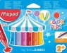 Kredki świecowe Jumbo Color'Peps - 12 kolorów (MPD-861311)
