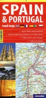 Spain&Portugal road map 1:1 100