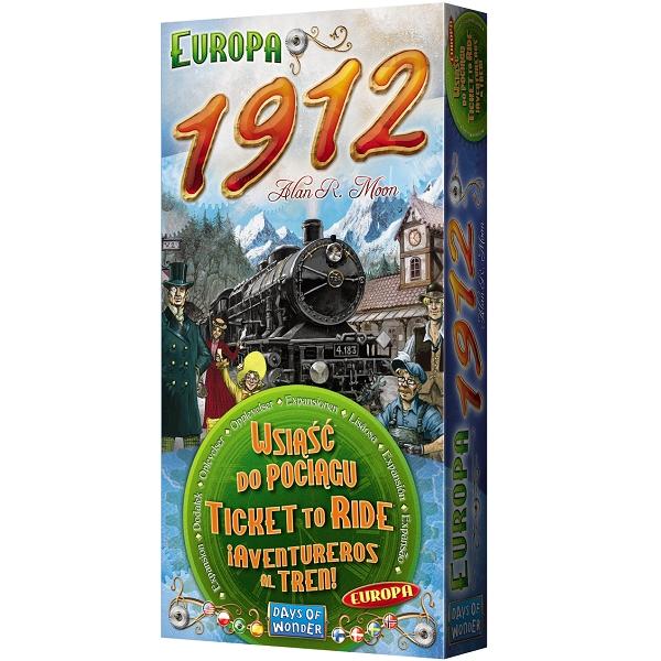 Wsiąść do Pociągu: Europa 1912 (edycja 2021) Alan R. Moon