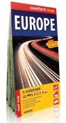 Europe road map 1:4 000 000