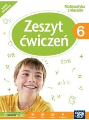 Matematyka z kluczem zeszyt ćwiczeń do klasy 6 szkoły podstawowej Marcin Braun, Agnieszka Mańkowska, Małgorzata Pas
