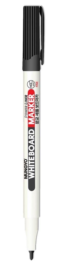 Marker suchościeralny mini czarny (12szt) MUNGYO