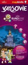 Varsovie Warszawa Euro 2012 mapa i miniprzewodnik