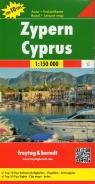 Cypr mapa 1:150 000