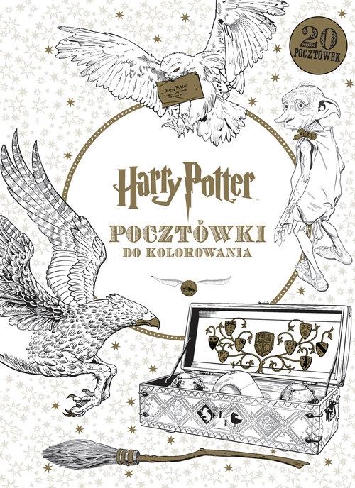 Harry Potter: Pocztówki do kolorowania