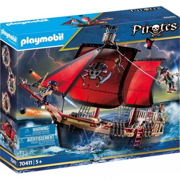 Playmobil Pirates: Statek bojowy Trupiej Czaszki (70411)
