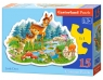 Puzzle konturowe Little Deer 15 elementów