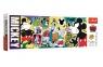 Puzzle Panorama 500: Legendarna Myszka Mickey (29511)