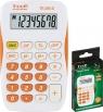 Kalkulator kieszonkowy biało-pomarańczowy TR-295-O (120-1419)