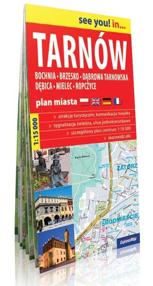 Tarnów plan miasta 1:15 000 Praca zbiorowa